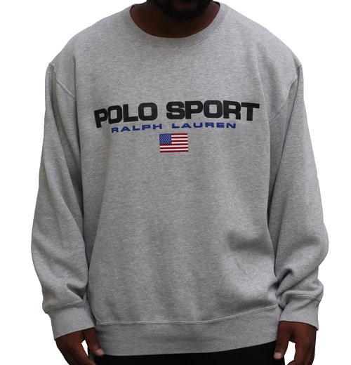 200e08ac2 ... Sweatshirt (Size XL). Vintage 90s Polo Sport grey spell out sweatshirt