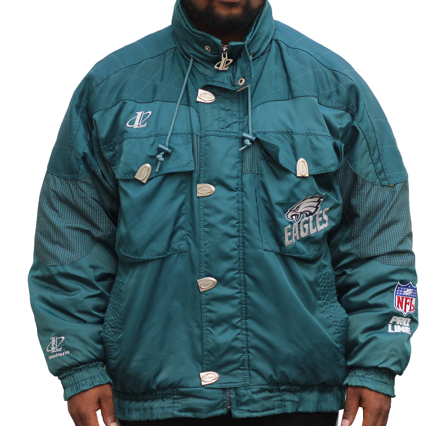 a4a45cff Vintage Logo Athletic Philadelphia Eagles Jacket (Size XL) — Roots