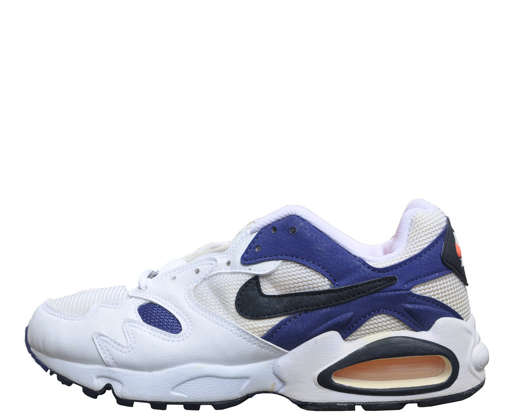 bf020ced13d5f Nike Air Max Triax Extra Navy   Orange (Size 7) DS — Roots