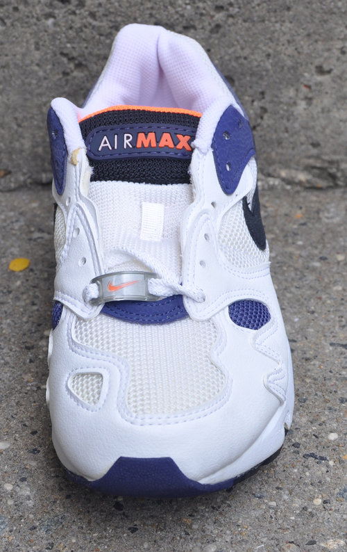 70ce391421a Nike Air Max Triax Extra Navy   Orange (Size 7) DS — Roots