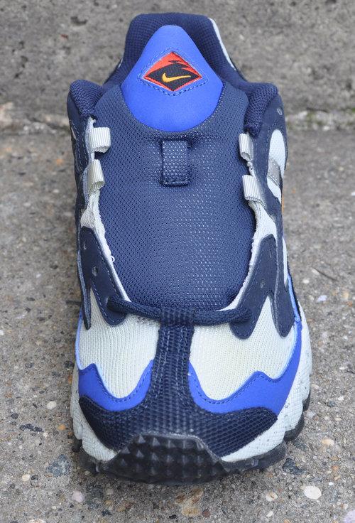 5240c6a9 Women's Nike Air Terra Endeavor Grey / Hyper Blue / Orange DS — Roots