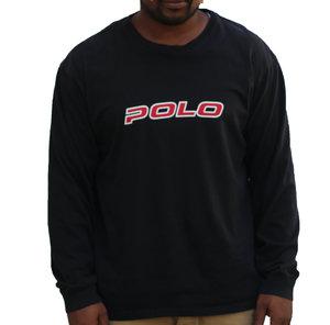 b1cb7c549 Vintage 90s Polo Sport Ralph Lauren Spell Out Long sleeve shirt