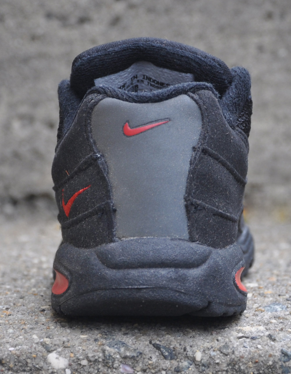 best website 6feec 092c3 discount code for nike air max 95 infant black and red 1b7bf ...
