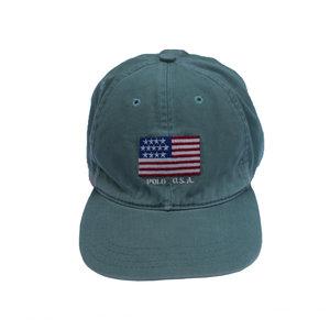 831907dee28 Vintage Polo Ralph Lauren USA Sea green hat