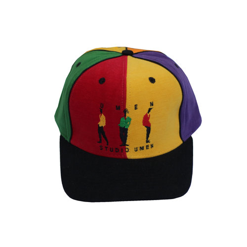 Vintage UMEN Studio Colorful Snapback Hat — Roots e728bbe7bda
