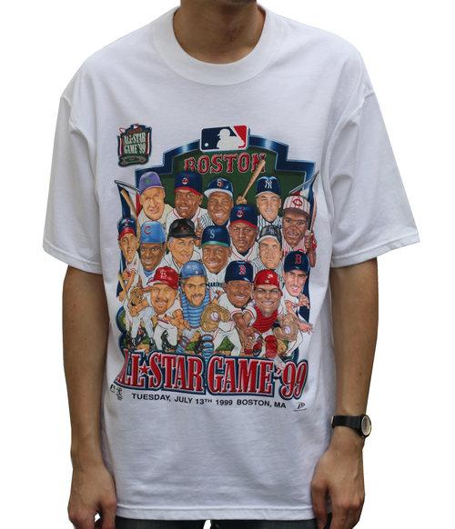 ebf3f6c86 Pro Player 1999 MLB All Star Game Caricature T Shirt (Size L) NWT ...