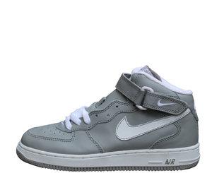 kids nike air force 1 mid medium grey.jpg 41f723df2