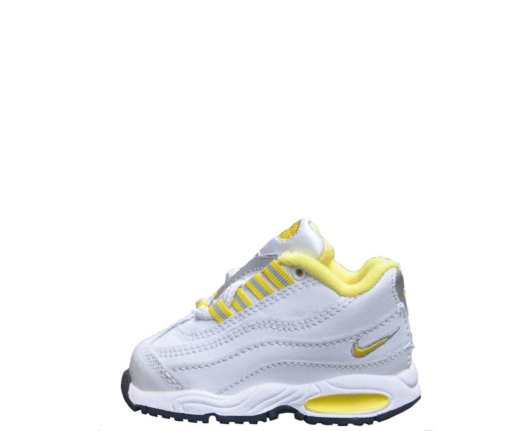 53ea003002 Baby Nike Air Max 95 White / Yellow DS — Roots