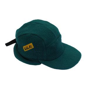 b95beaa3de4 Vintage 90s Bula USA green fleece 5 panel hat