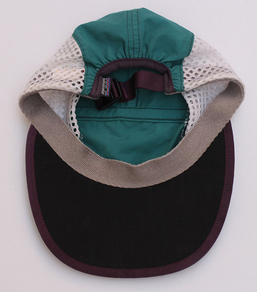 Vintage Patagonia Green   Purple Mesh 5 Panel Hat (Size S) — Roots 077c372e372