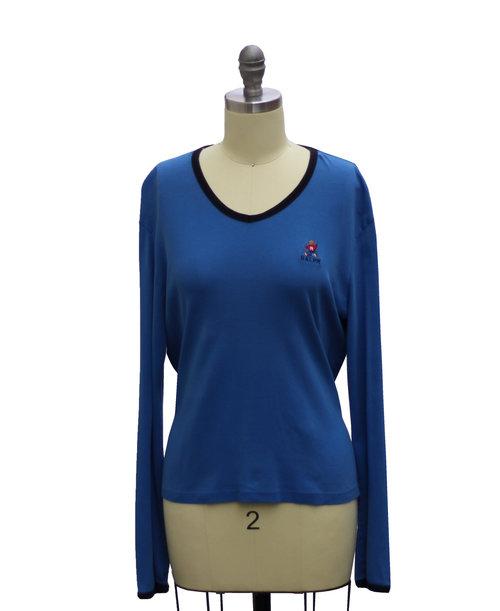 Vintage Polo Ralph Lauren Bear T Shirt (Size Women`s L) — Roots 542577ec73
