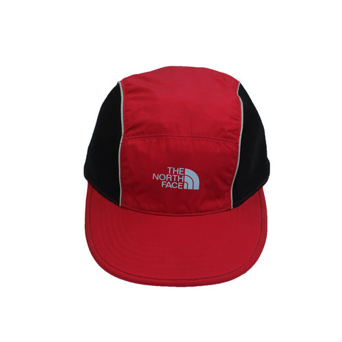 b6a794f9c497b Vintage The North Face Red   Black   3M 5 Panel Hat — Roots