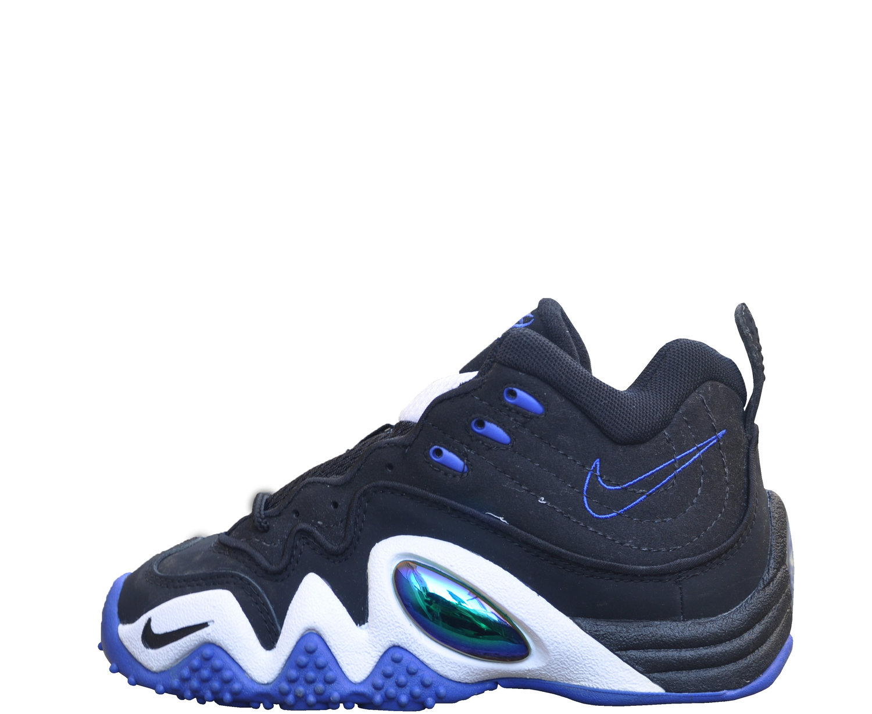 3ab22b8720c1 Kids Nike Air Flight Five Black   Lapis