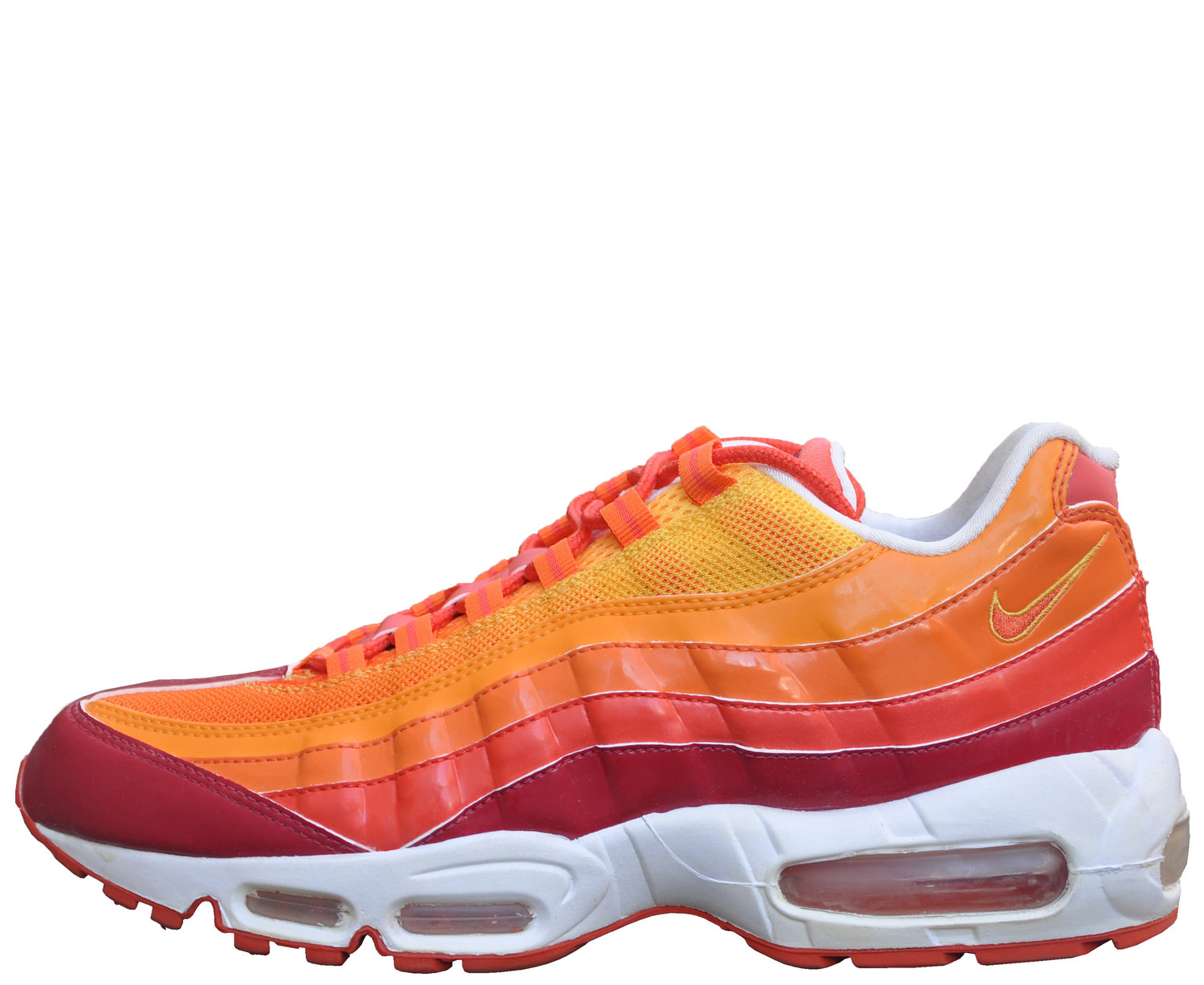 buy online 2a18d 039ac Nike Air Max 95 Red   Orange Blaze