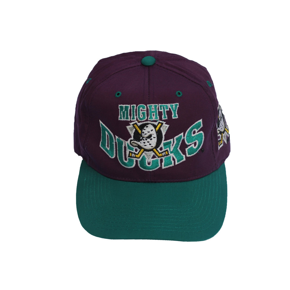 3bbdc9fcca933 ... real vintage 90s the g cap anaheim mighty ducks hat e4ee9 f933f