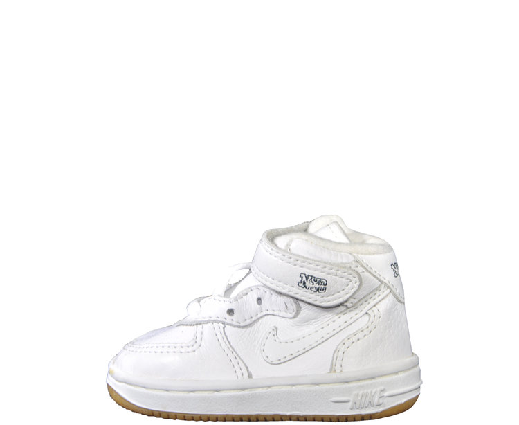 Baby Nike Air Force 1 Mid NYC White   Gum (Size 3.5) DS — Roots 5c55417b6ecf