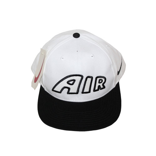 Vintage 90s Nike Air More Uptempo white and black strap back cc84358e22a