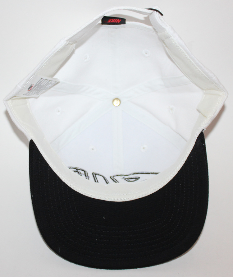 dde3f1e361f Vintage Nike Air More Uptempo White   Black Hat NWT — Roots
