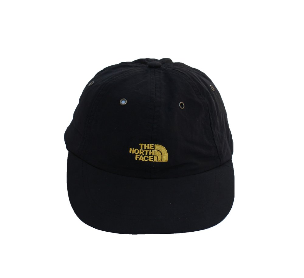 Vintage The North Face Black   Yellow Strap Back — Roots 36362fdffa5