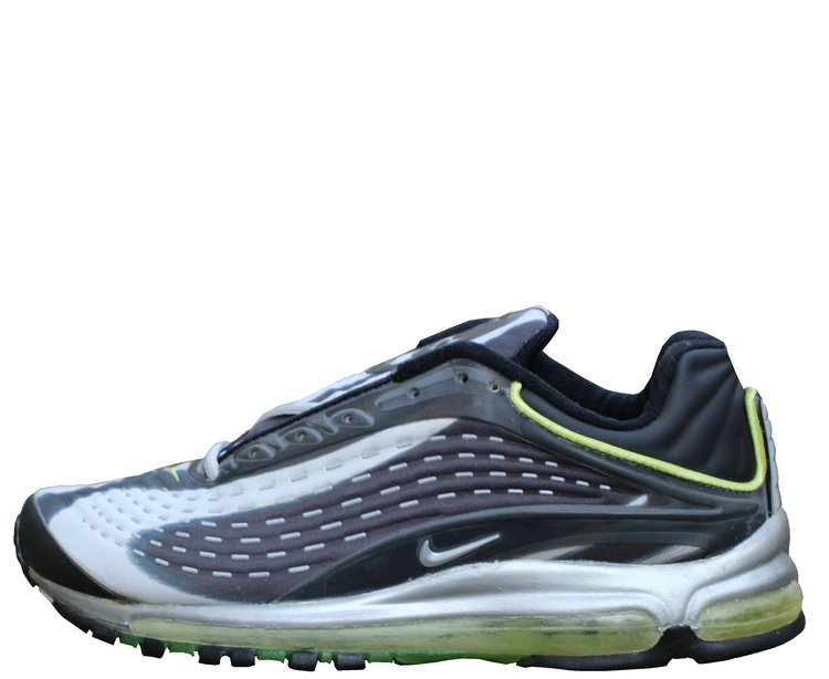 c1c48d0333addb Nike Air Max Deluxe Grey   Silver   Green (Size 10.5) DS — Roots