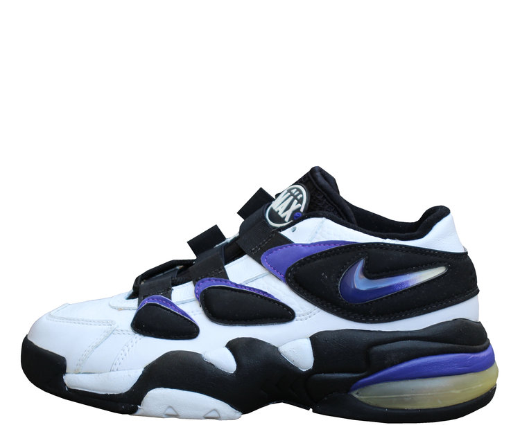 best website 1a7e6 a17b7 Nike Air Max2 Uptempo Low Concord   Black (Size 6.5) DS