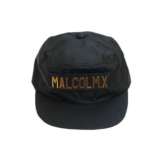 Vintage Malcolm X Black   Gold Snapback NWOT — Roots 1a241665403
