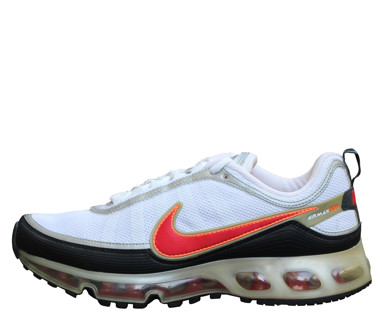 Nike Air Max 360 II White Red Tart Black (Size 8.5) DS — Roots