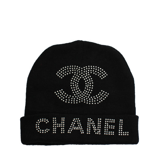 Vintage Chanel Studded Beanie — Roots 479471650b3