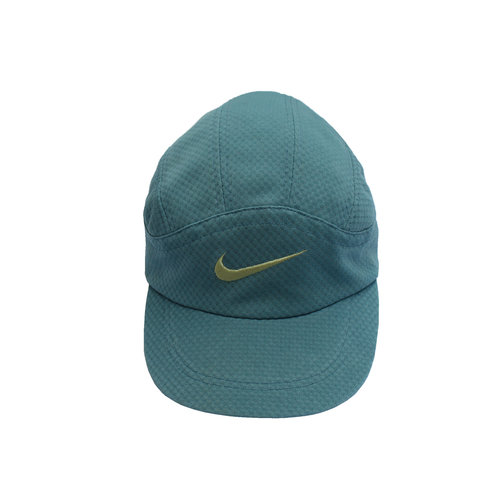 Vintage Nike Jade   Yellow Dri Fit Running Hat — Roots 1896243771d