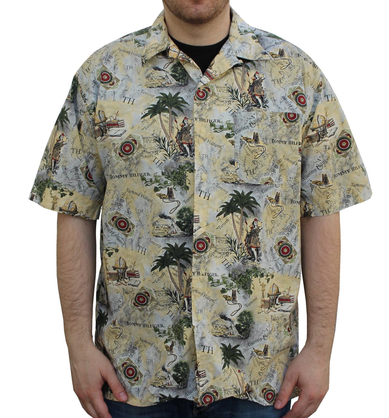 Vintage Tommy Hilfiger Exploration Button Down Shirt (Size L) — Roots