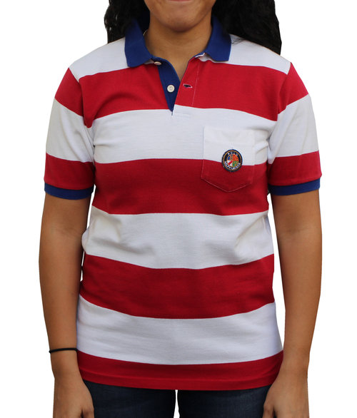 73079bc30 Vintage Polo Ralph Lauren Cookie Striped Rugby (Size Youth L) — Roots