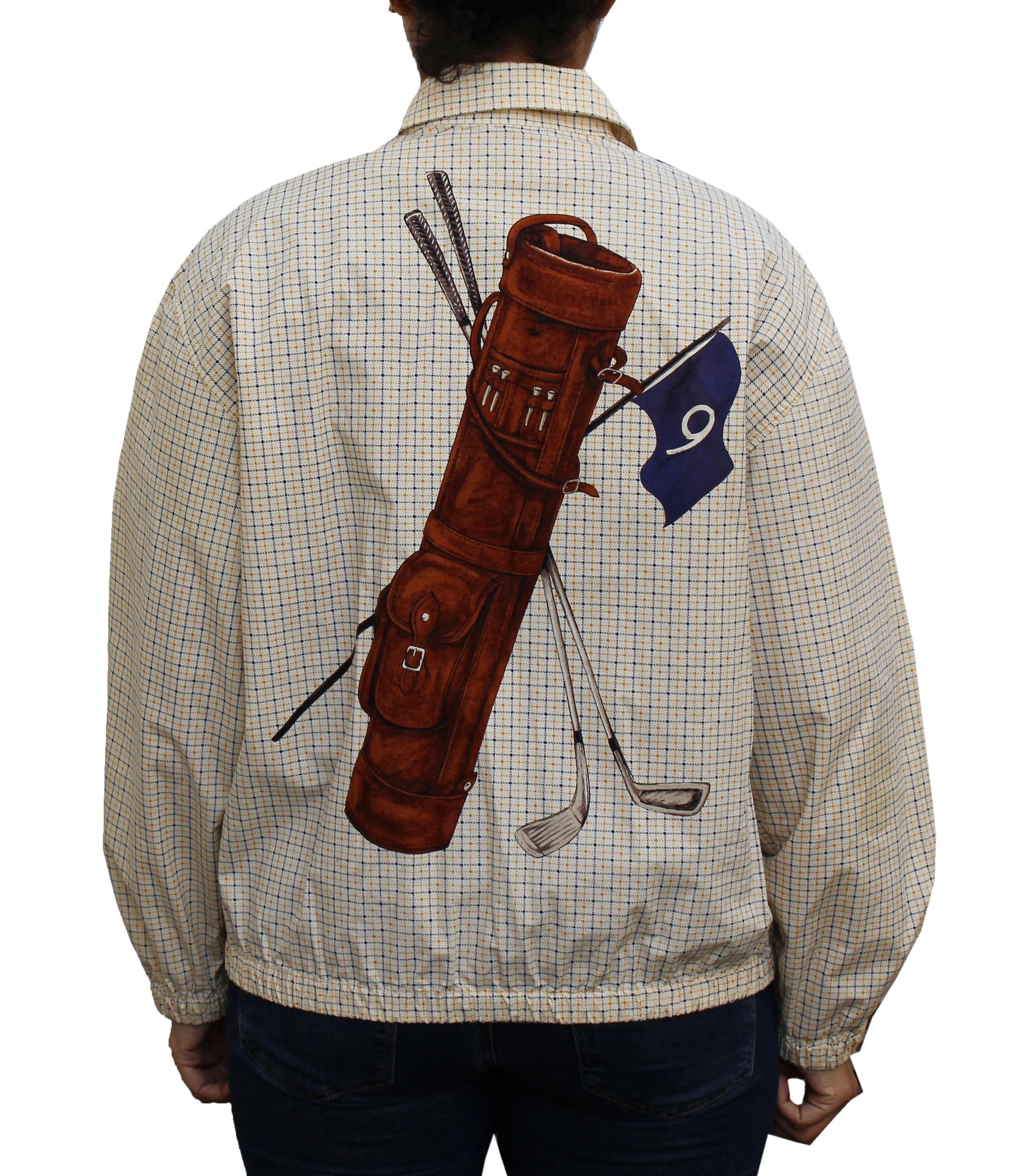 Vintage Polo Ralph Lauren Golf Bag Jacket (Size Women`s M)