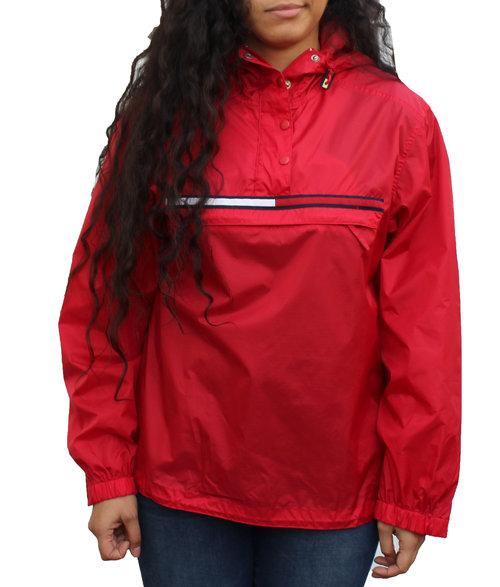 5986fd4850 Vintage Tommy Hilfiger Red Logo Windbreaker (Size Women`s M) — Roots