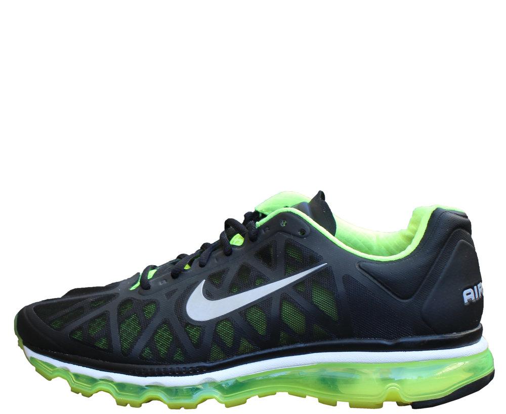 the best attitude 238cd 36a9c ... spain nike air max 2011 black neon green size 9.5 8253b 90192
