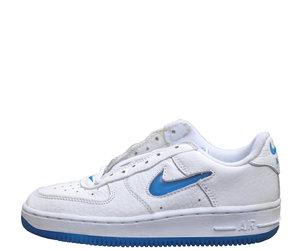 Kids NIke Air Force 1 Low Jewel Blue Spark. 78ec418e4