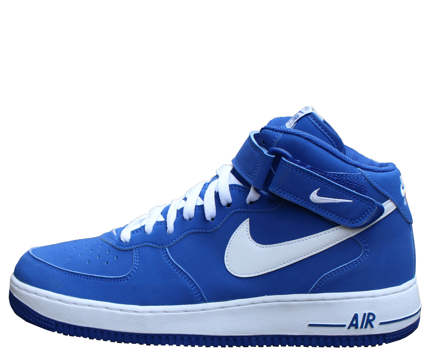 Nike Air Force 1 Mid Sport Royal White Size 11 Ds Roots