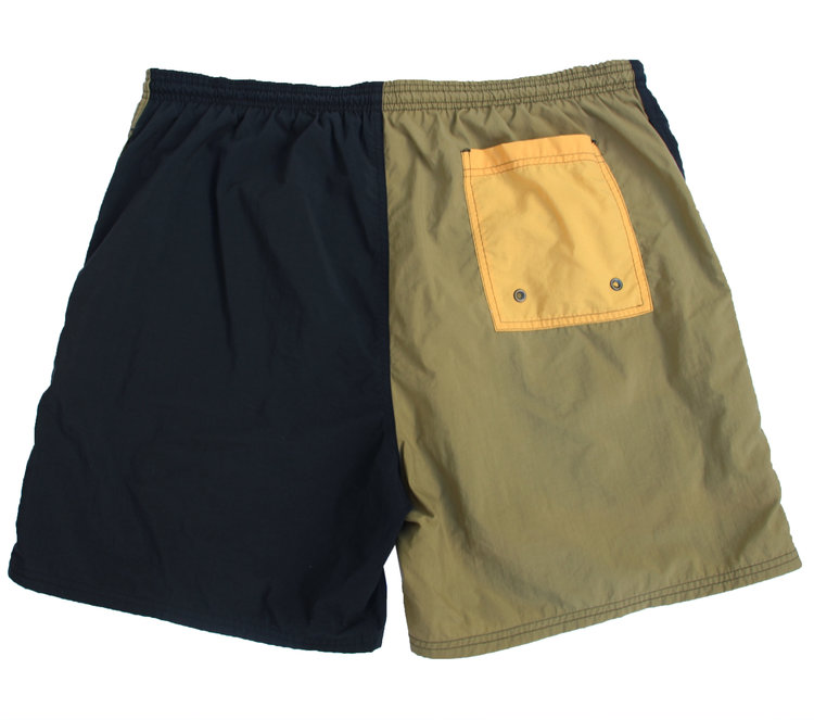 6c8307f313 Vintage Perry Ellis America Black / Olive / Mango Bathing Suit (Size ...