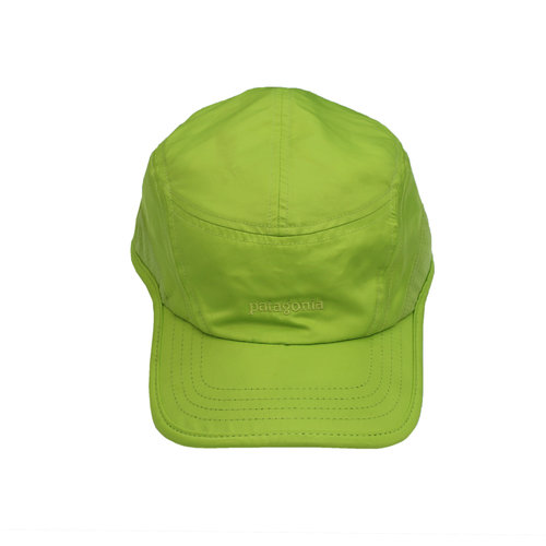 Patagonia Neon Green 5 Panel Running Hat — Roots a2d2940595c