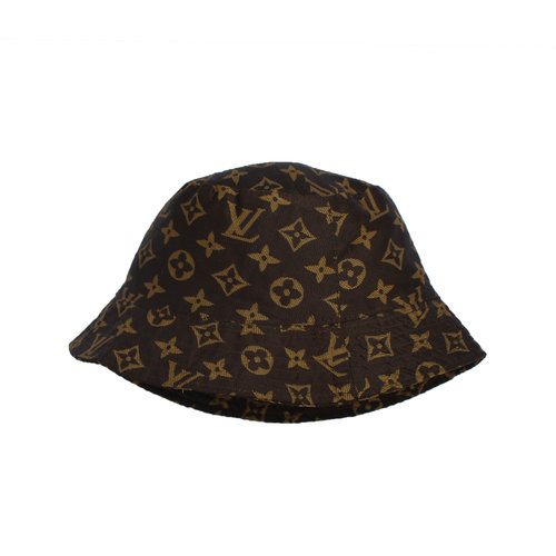 26137bbb3b4b1 Bootleg LV Brown Monogram Bucket Hat — Roots