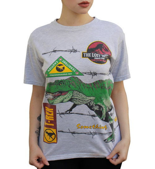1a58a4374 Vintage Jurassic Park The Lost World Double Sided T Shirt (Size ...