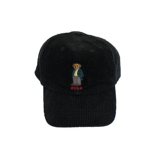 Vintage Polo Ralph Lauren Bear Corduroy Hat — Roots b0d77eac924