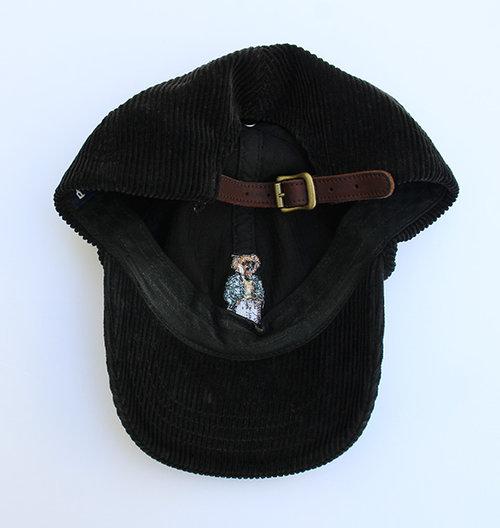 Vintage Polo Ralph Lauren Bear Corduroy Hat — Roots c6cee8a33de