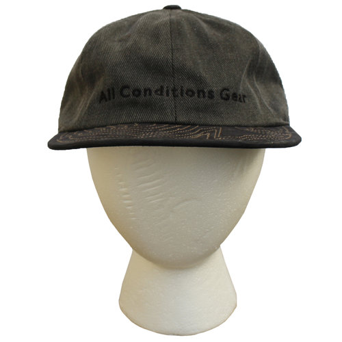 cc4078707fb Vintage Nike ACG Grey   Black Two Toned Hat — Roots