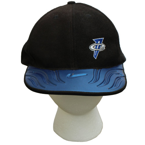 c48c8715b71e8 Vintage 90s Nike Air Penny Foamposite One Royal Penny matching hat