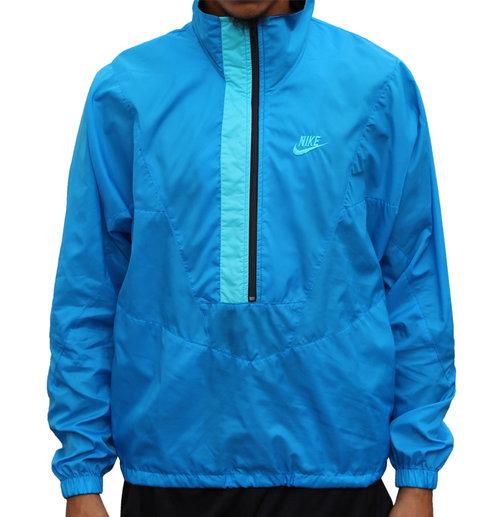 7f051a8911 Vintage Nike 1 2 Zip Light Blue Windbreaker (Size M) — Roots