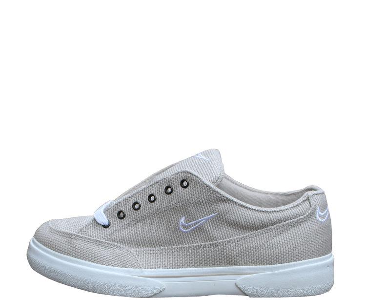 pretty nice 67e83 f0047 ... Womens Nike GTS Canvas Light String White (Size 9.5) ...