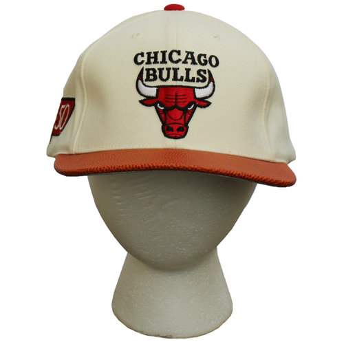 2b4c1b924d4 Vintage American Needle Chicago Bulls 50th Anniversary Hat NWT — Roots
