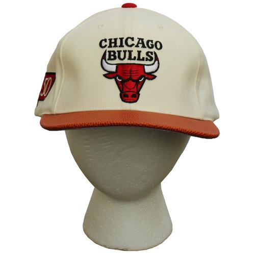 2b4c1b924d4 Vintage American Needle Chicago Bulls 50th Anniversary Hat NWT — Roots