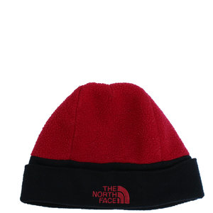 1e84ee56446 Vintage 90s The North Face red and black beanie