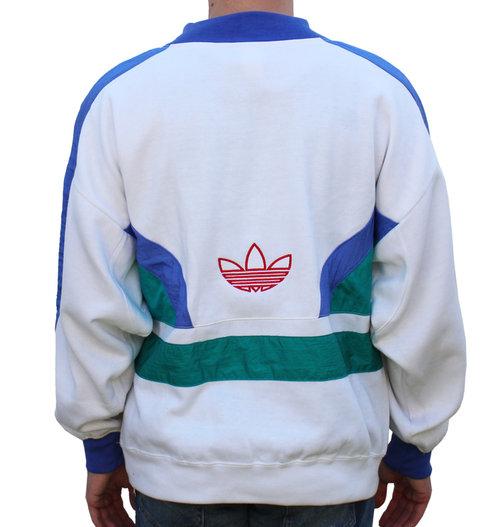 10609d651954e Vintage Team Adidas Colorful Crewneck Sweatshirt (Size M) NWOT